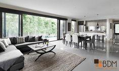 Decoración monocromática estilo contemporáneo medio, con el balance y armonía perfecta que te invita a quedarte.