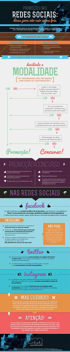 Novas regras dos concursos culturais nas rede sociais. #Infografico