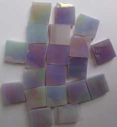 LOVE this for shower flooring : Mosaic Mini Tile 100 Tiles 3/8in  IRIDESCENT by StainedGlassLizard, $3.95