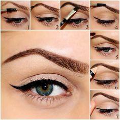 Anastasia Eyebrows using the Brow Genius Kit.