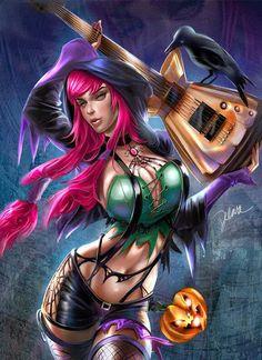Halloween Is Rock by Cris Delara