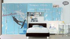 Εφηβική ντουλάπα... για πάντα! -20% έκπτωση  Αυτοκόλλητα Ντουλάπας -20%: http://www.houseart.gr/autokollita-ntoulapas/14  #houseart #closet #design #sales #stickers #sport #bedroom