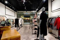 Fashion store lighting Track Light & Rail Lighting HEXELINE Track