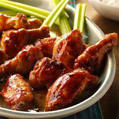 Glazed Chicken Wings Recipe