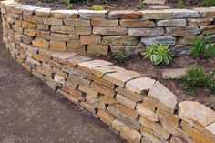 retaining walls | Concrete Retaining Wall, Keystone Retainer Wall or other style wall ...