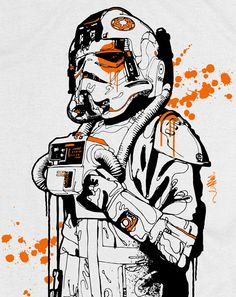 AT-AT Pilot: Star Wars Icon Series  by Mitchy Bwoy