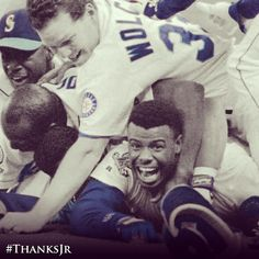 For being a baseball legend. Our baseball legend. #ThanksJr #Mariners