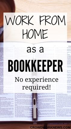 Are you looking for a flexible and a very profitable work at home option? Try bookkeeping. It& a great way to make a good income from home and the best part is you don& need any experience. Earn Money From Home, Earn Money Online, Way To Make Money, Home Based Business, Online Business, Salon Business, Craft Business, Good Business Ideas, Whatsapp Marketing
