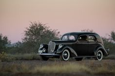 1937 Lincoln Model K Two-Window Sedan K-7816