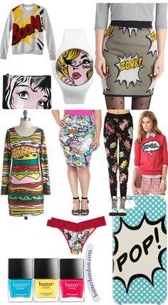 48 Trendy Ideas For Pop Art Costume Clothes Style Art Costume, Costume Shirts, Costumes, Canvas Art Projects, Easy Canvas Art, Cultura Pop, Pop Art Fashion, Fashion Outfits, Pop Art Kostüm