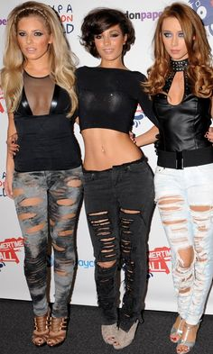 Mollie King, Frankie Sandford And Una Healy At The Capital FM Summertime Ball, 2009