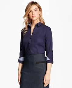 Tailored-Fit Patchwork Jacquard Shirt - BB AU Ecommerce