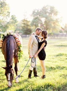 I would just like horses at my wedding haha Equine Photography, Couple Photography, Engagement Photography, Wedding Photography, Engagement Couple, Engagement Pictures, Engagement Shoots, Horse Love, Horse Girl
