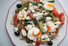23 majonézes saláta - a kedvenceitekből | NOSALTY Caprese Salad, Cobb Salad, Sushi, Ethnic Recipes, Food, Eten, Meals, Sushi Rolls, Diet