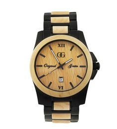 High-quality, well-designed timepieces from all-natural wood and stainless steel | Original Grain Maple Wood