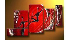 Cuadros Flores Abstractos Tripticos Dipticos Modernos - $ 490,00 en MercadoLibre