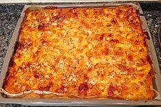 Mirabellenkuchen mit Schmandguss von heimwerkerkönig | Chefkoch.de Lasagna, Macaroni And Cheese, Cake Recipes, Ethnic Recipes, Amelia, Angels, Drinks, Creative, Kitchen