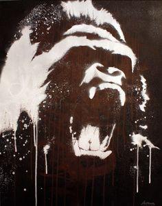 Gorilla by ckemp2.deviantart.com on @DeviantArt