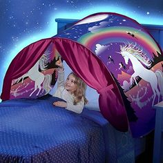 Unicorn Fantasy Foldable Tent Outdoor