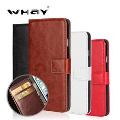 WHAY For Sony Xperia M4 Aqua Case Cover SONY M4 Aqua PU Leather Wallet Case for Coque Capas Sony Xperia M4 Aqua E2303 Fundas