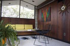 Sitting room in 1958 Irwin Stein Home - modern - family room - philadelphia - At Home Modern