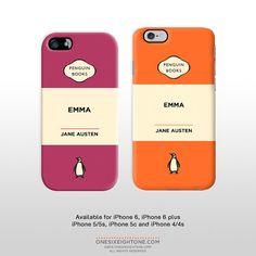 iPhone 6 iPhone 6 plus Emma Jane Austen phone by OneSixEightOne