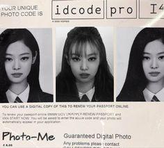 Renewing Your Passport, Passport Pictures, Passport Online, Rp Ideas, Lisa, Cool Face, Jennie Kim Blackpink, Kpop Posters, Aesthetic Template