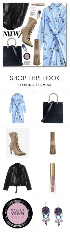 """""""What to Wear to NYFW"""" by svijetlana ❤ liked on Polyvore featuring MAKE UP FOR EVER, NYFW and zaful"""
