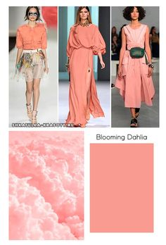 Color trends 2018 | Pantone Blooming Dahlia #colors #2018