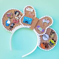 I have come together with 10 amazing small shops to bring you a L. I have come together with 10 amazing small shops to bring you a Loaded Pin Ear GIVEAWAY! One lucky winner will receive… Diy Disney Ears, Disney Mickey Ears, Mickey Ears Diy, Disney Ears Headband, Disney Bows, Disney Stuff, Micky Ears, Disney Headbands, Disney Outfits