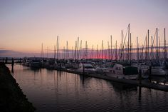 Everett Marina/Waterfront. Pull up, have dinner at Anthony's and watch the sunset. Yep!