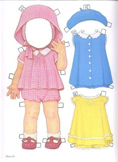 1985 Reproduction of BEST FRIENDS Paper Dolls Publisher: Dover <> Original 1930s by Queen Holden 2 of 16