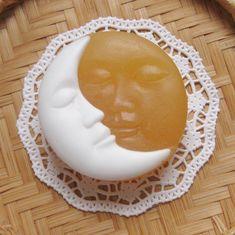 Medové sluníčko s měsícem