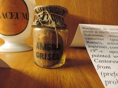 (un)intentional contemporary art in Transylvania: Ambra grisea / ambergris in Transylvania History Of Pharmacy, Candle Jars, Candles, Contemporary Art, Romania, Collection, Candy, Candle Sticks, Modern Art