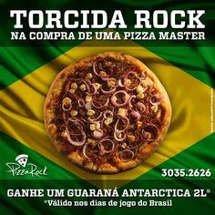 Cliente: PizzaRock Campanha: Promoção Copa do Mundo #anúncio #publicidade #copa