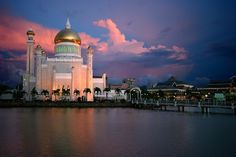 Brunei at Dusk