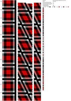 Клетка шотландка поперечная стык на 0,0 (17) http://crochetbeadpaint.info/raports/1919184
