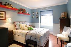 contemporary boys bedroom decorating by capelo design