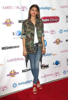 Zendaya at the K.C. Undercover premiere party in LA 01/18/15