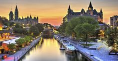 Different ways to experience the Rideau Canal in Ottawa - Ottawa Tourism Ottawa Tourism, Canada Tourism, Quebec, Capital Do Canada, Montreal, Travel Pictures, Travel Photos, Parcs Canada, Vancouver