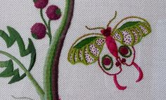 Jacobean Crewelwork - Deb Wilding | Love Stitch! | Flickr