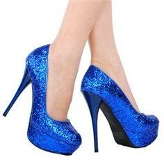 Até o dia do casamento: Sapatos com Glitter - DIY