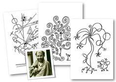 Activités en arts plastiques – Le blog de Chat noir Klimt, Le Cri Munch, Art History Memes, Ecole Art, History Teachers, Viera, Art School, Art For Kids, Paint Colors