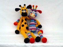"""Häkel-Giraffe """"Jonathan"""""""