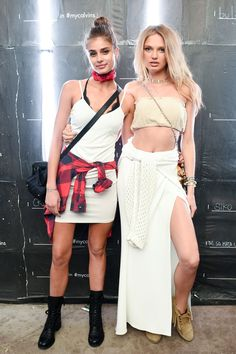 Taylor Hill and Romee Strijd Coachella 2016