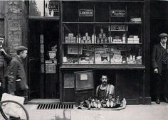 C. 1900S: The Smallest Shop in London *May I help yOu?*$%!