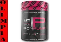 IRON HORSE IRON PUMP 540g  MOC POMPA   białko