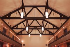 Vaulted Ceiling #indianapoliswedding