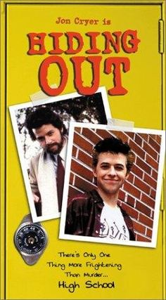 "A year after he played Duckie, Jon Cryer was ""Hiding Out"" in high school.  Cool.  First rap I liked.  Loved his hair."
