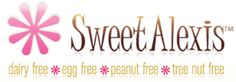 We love EVERYTHING from Sweet Alexis! Dairy free, egg free, peanut free, tree nut free